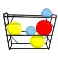 Étagères en PVC noir - 9-12 ballons