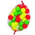 But (cochonnet) - 25 en 3 couleurs - vert , jaune et rouge