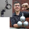 Ramasse-boules magnétique pour la pétanque